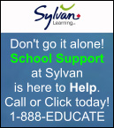 Sylvan Learning, Don't go it alone! School Support at Sylvan is here to Help Call or Click today! 1-888-EDUCATE. www.sylvanlearning.com