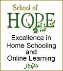 School of Hope, excellence in home schooling and online learning. www.schoolofhope.org/landingpage/calgary